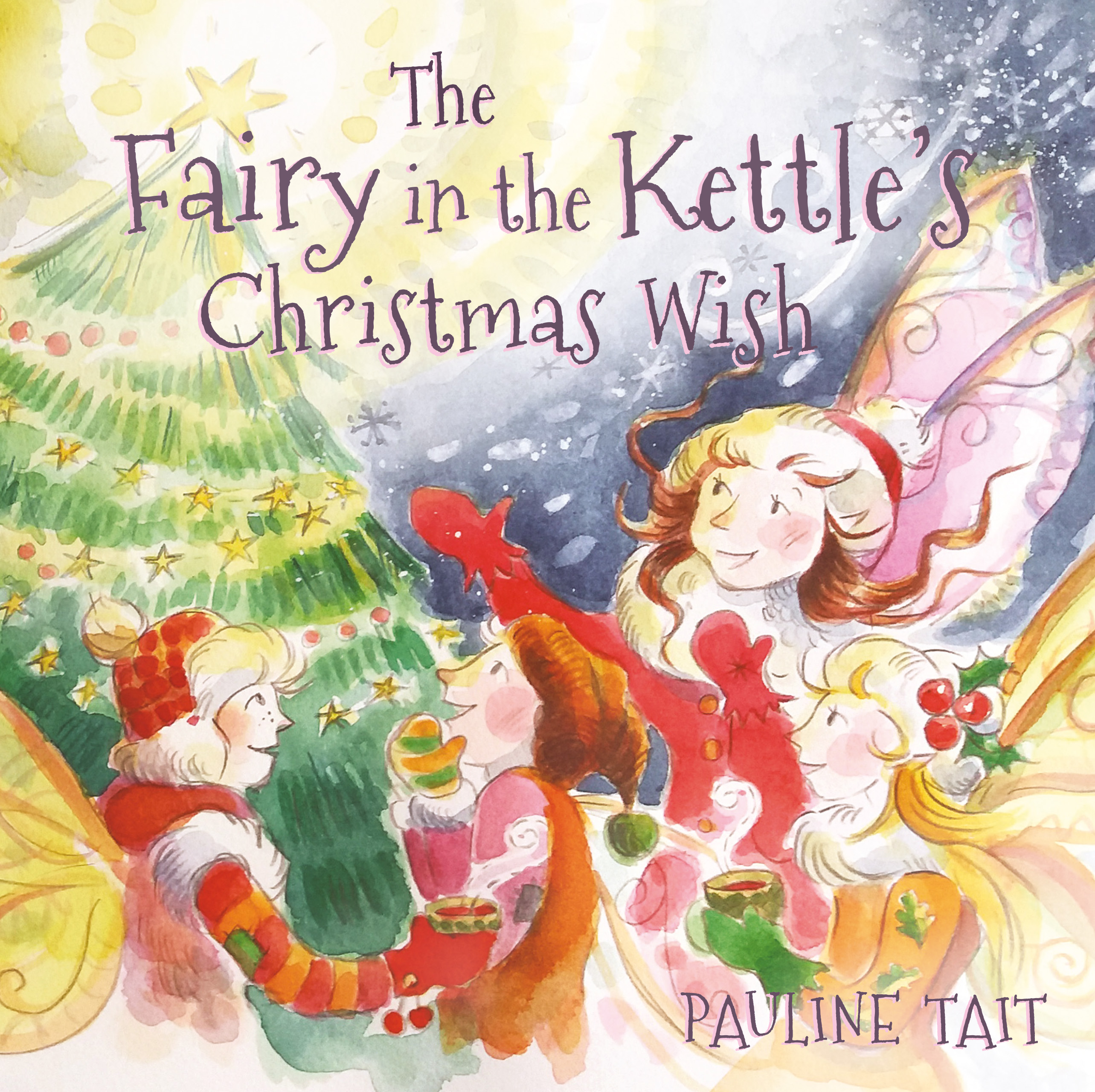Christmas Wish.The Fairy In The Kettle S Christmas Wish Pauline