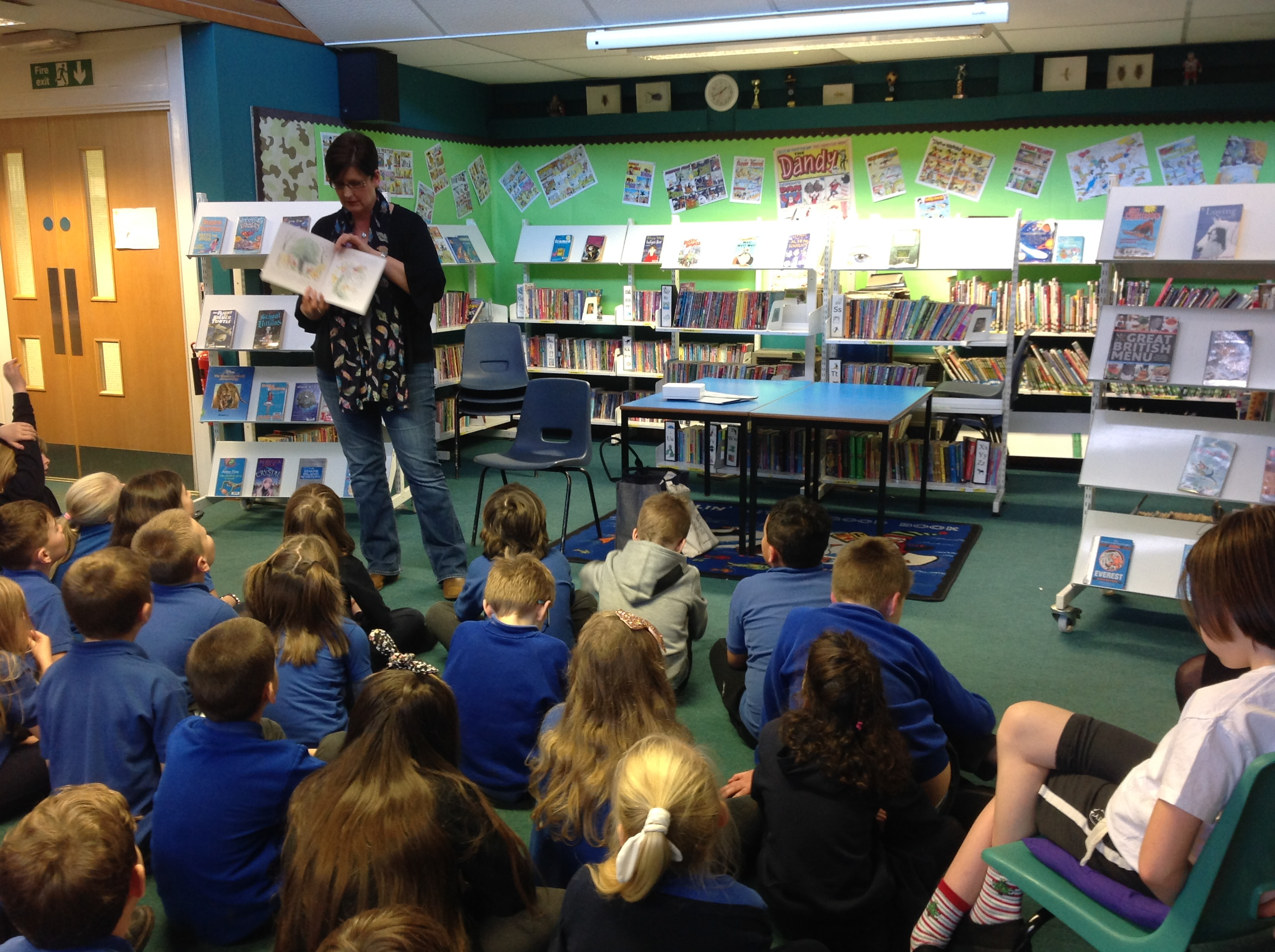 World Of Work Week at Pitlochry Primary School
