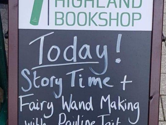 Highland Bookshop, Fort William - 13th July